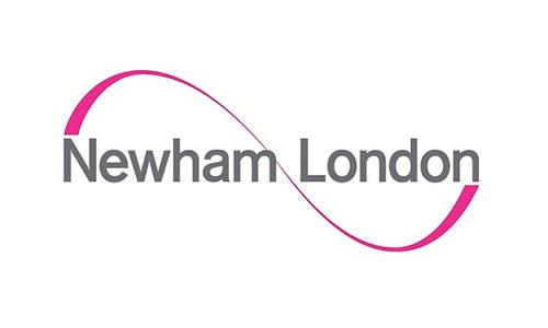 Newham London Logo | Albert Island