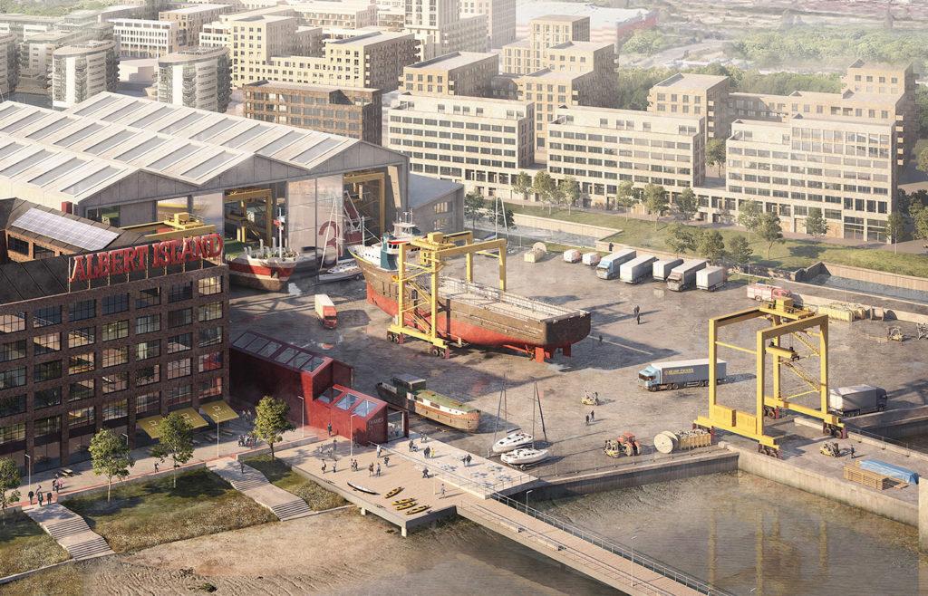 Shipyard CGI | Albert Island
